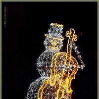 Снеговик-музыкант :: vadim