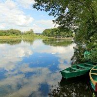 Пейзаж с лодками :: Светлана