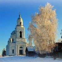 В жемчужной россыпи снежинок... :: Нэля Лысенко