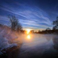 Узоры морозного заката... :: Андрей Войцехов