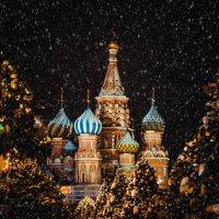 Храм Василия Блаженного на Красной Площади :: Александр Михайленко