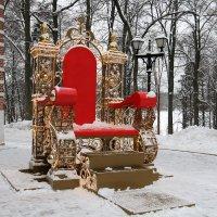 трон деда Мороза :: Владимир Холодницкий