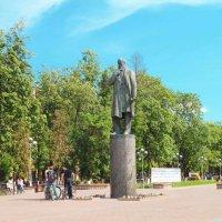3.памятник профессору Н.Е. Жуковскому :: Николай Мартынов