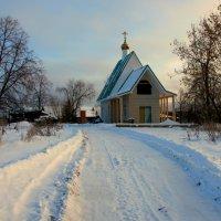 Строится  Храм... :: Нэля Лысенко