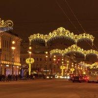 Новогодние украшения в городе :: Aнна Зарубина