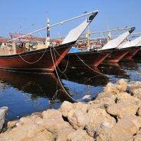 такими новыми старыми лодками, плавали раньше до Китая из Омана :: Георгий А