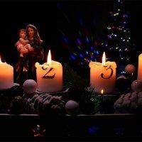 В Рождественскую ночь-рождение младенца Иисуса. :: Mila .