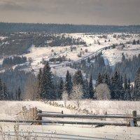 Зима в Успенке :: Fuseboy