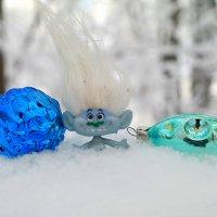 Ни снегопады, ни  мороз нам не испортят настроенье в новогодье! :-) :: Андрей Заломленков