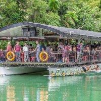 Прогулка по реке Лобок, остров Бохол, Филиппины. :: Edward J.Berelet