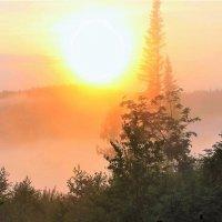 Ослепительное солнце рассвета :: Сергей Чиняев
