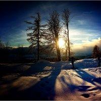солнце в горах :: Jiří Valiska
