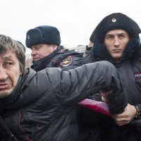 На митинге :: Михаил Крюков