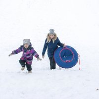 Зима!!! Горка!!! :: Марина Алексеева