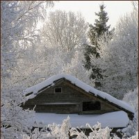 Зима в деревне :: Татьяна Смирнова