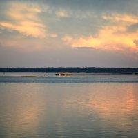 Закат на Сиверском озере. Кириллов. Вологодская область :: MILAV V