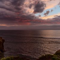 Закат над Тихим океаном :: Tatiana