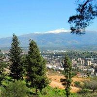 Утопает в окруженьи гор городок небольшой в Галилее :: Гала