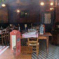 Франция. Овер-сюр-Уаз. Ресторан постоялого двора Раву. :: Надежда Лаптева