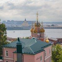 Городок на Волге :: Дмитрий Анатольевич
