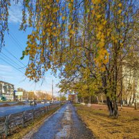 Осень в  городе. :: Александр Леонов