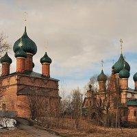 Ярославль, храмовый комплекс церкви Иоанна Златоуста в Коровниках :: Николай Белавин