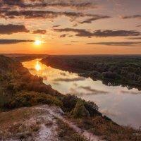 Закат на реке Дон :: Игорь Сарапулов