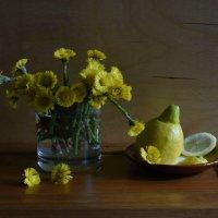 Мать-и-мачеха, лимон и солнышко... :: Рита S