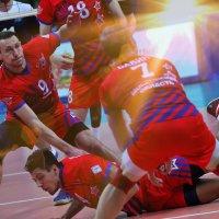 Волейбол на закате солнца :: Иван Виноградов