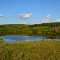 Шахты. Вид на Грушевское водохранилище с правого берега. :: Пётр Чернега
