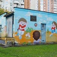 Граффити.Москва / ул. Верхние Поля, 14 :: Александр Качалин