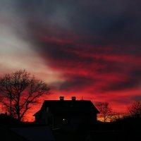 Закат перед Пасхой :: Сергей Сошко