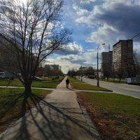 Городской пейзаж в эпоху самоизоляции :: Андрей Лукьянов