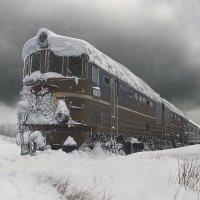 Забытый поезд :: Борис Соломатин