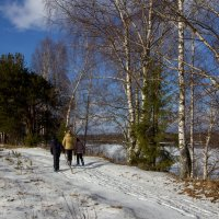 На прогулке. :: Андрей Дурапов