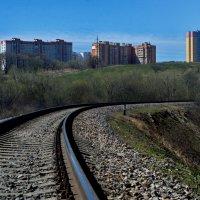 Дорога к городу :: Aleksandr Ivanov67 Иванов