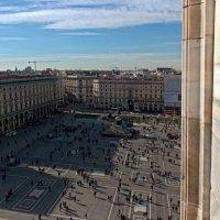 Вид на пл.Дуомо сверху. Милан. :: Galina Solovova