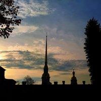 город на закате :: Юлия Стальнова