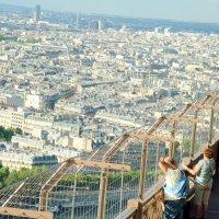 Париж с Эйфелевой башни (архив) :: Ольга