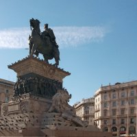 Памятник Виктору Эммануилу 2-му.Милан,пл.Дуомо. :: Galina Solovova