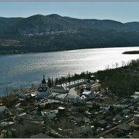 Вид с горы на Успенский мужской монастырь. :: Алексей Хвастунов