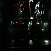 Ночной двор танцующих огней... :: Ирина Румянцева
