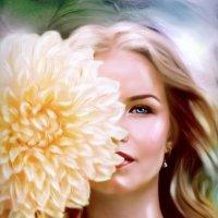 Арт портрет имитация живописи маслом. :: Светлана Кузнецова