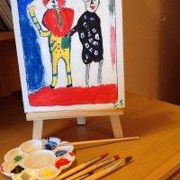 Рисуют внуки :: Борис