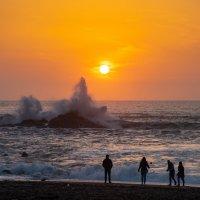 Закат на океане :: Наталия Л.