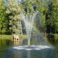 Радужный  фонтан :: Ирина Майорова