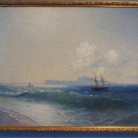 Иван Айвазовский (1817-1900). Море (Вид на остров Капри), 1898 :: Елена Павлова (Смолова)