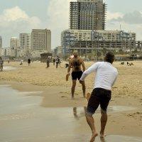 в Израиле открыли пляжи :: Осень