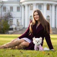 Дама с собачкой :: Владимир Тро