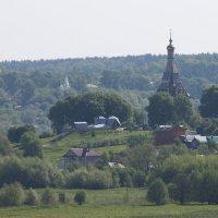 Церкви строились на расстоянии прямой видимости. :: Александр Сергеевич Антонов